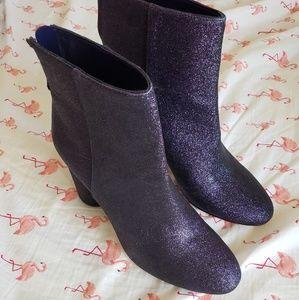 Katy Perry Mayari Purple Glitter Boots 10M